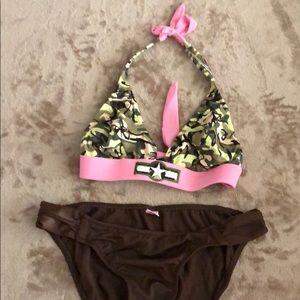 Camo swim suit